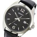 セイコー SEIKO クオーツ メンズ 腕時計 時計 SUR215P1 ブラック【楽ギフ_包装】