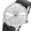 カルバンクライン Calvin Klein ボールド BOLD クオーツ メンズ 腕時計 時計 K5A311C6 ホワイトシルバー【楽ギフ_包装】