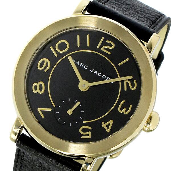 マーク ジェイコブス MARC JACOBS ライリー RILEY クオーツ ユニセックス 腕時計 時計 MJ1471 ブラック【_包装】 【ラッピング無料】