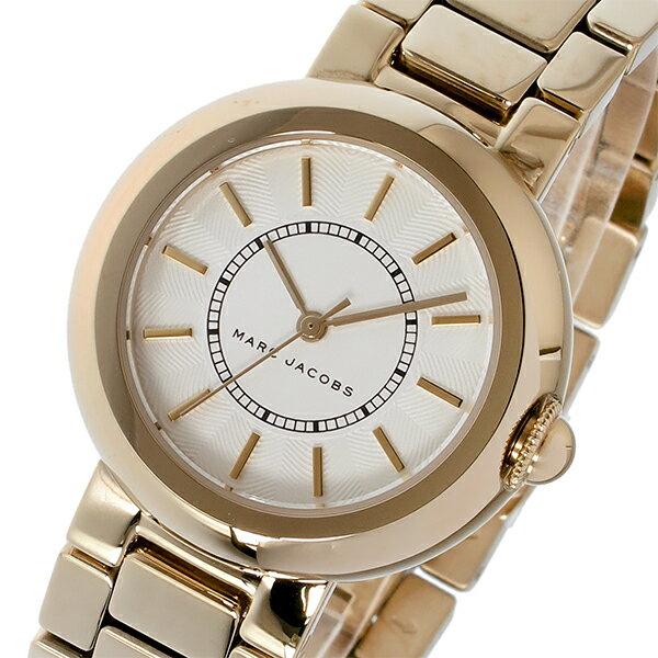 マーク ジェイコブス MARC JACOBS コートニー COURTNEY クオーツ レディース 腕時計 時計 MJ3466 ホワイト【_包装】 【ラッピング無料】