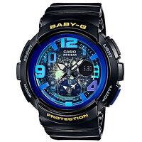 カシオ CASIO ベビーG BABY-G ビーチトラベラーシリーズ レディース 腕時計 時計 BGA-190GL-1B ブラック【楽ギフ_包装】