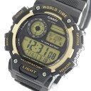 カシオ CASIO メンズ 腕時計 時計 AE-1400WH-9A 液晶/ブラック【楽ギフ_包装】