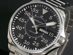 ハミルトン HAMILTON 腕時計 カーキ パイロット H64611135【_包装】【RCP】【送料無料】【smtb-f】 【送料無料】