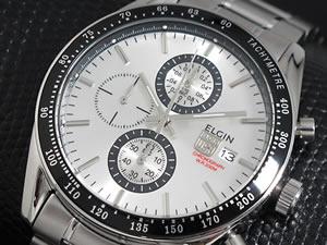 エルジン ELGIN 腕時計 時計 クロノグラフ メンズ FK1295S【_包装】【RCP】H2