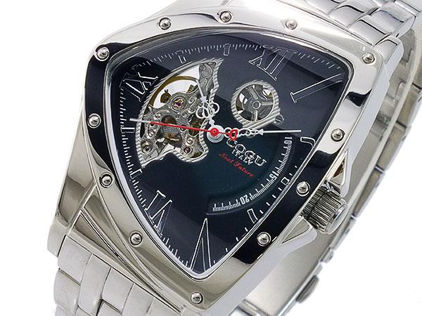 コグ COGU 流通限定モデル スケルトン 自動巻 メンズ 腕時計 時計 BNT-N-BK【_包装】 【ラッピング無料】【人気 メンズ 腕時計】