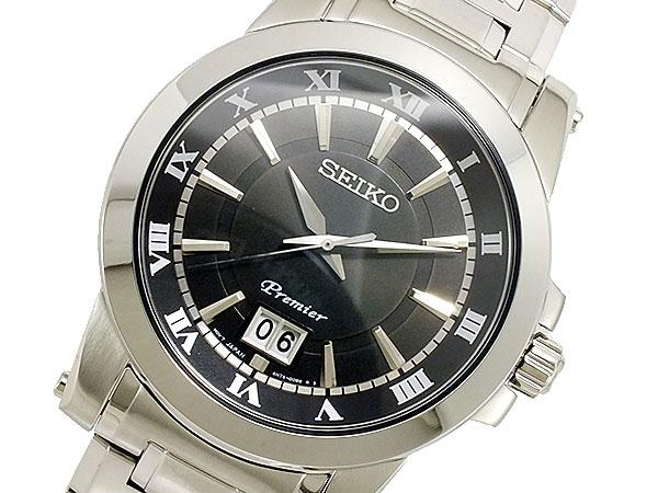 セイコー SEIKO Premier クォーツ メンズ 腕時計 時計 SUR015P1【_包装】【RCP】 【ラッピング無料】
