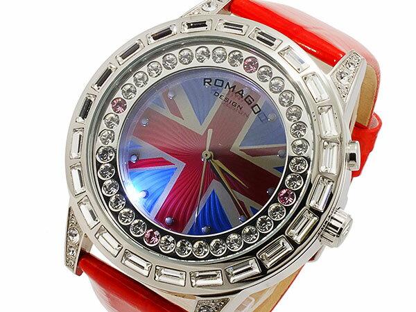 ロマゴ ROMAGO ダズルシリーズ Dazzle series クオーツ レディース 腕時計 時計 RM006-0310ST-RD【_包装】【RCP】 【ラッピング無料】