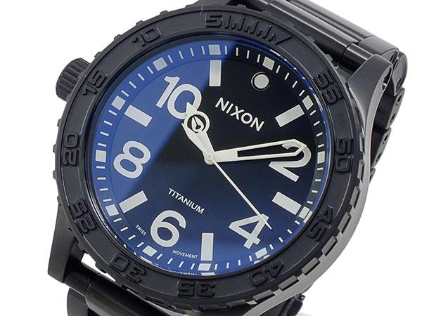 ニクソン NIXON チタニウム 51-30 TI クオーツ メンズ 腕時計 A351-001【_包装】【RCP】【smtb-f】【送料無料】 【送料無料】☆防水☆