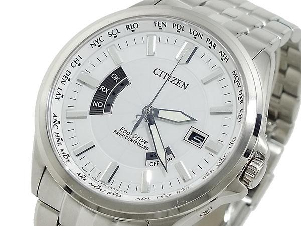 シチズン CITIZEN エコドライブ ソーラー 電波腕時計 CB0011-51A【送料無料】【_包装】 【送料無料】【ラッピング無料】