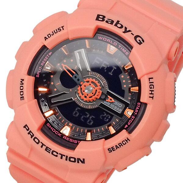 カシオ CASIO ベビーG BABY-G アナデジ レディース 腕時計 時計 BA-111-4A2【_包装】 【ラッピング無料】