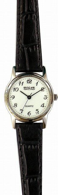 【ROGAR】ローガル レディース腕時計 RO-055LB-S1 日常生活用防水(日本製) /5点入り(き) ROGAR ローガルは国内にて製造しております。