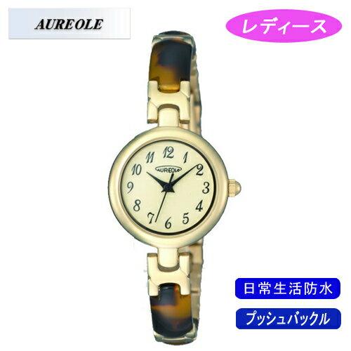 【AUREOLE】オレオール レディース腕時計 SW-492L-2 アナログ表示 日常生活用防水 /1点入り(き) 【AUREOLE】優れた機能性と洗練されたデザイン