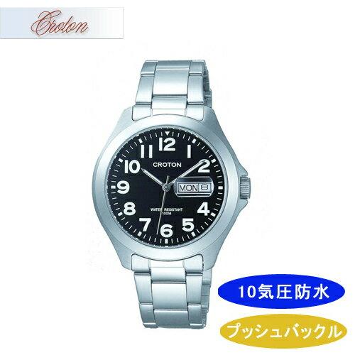 【CROTON】クロトン メンズ腕時計 RT-144M-4 アナログ表示 10気圧防水 /10点入り(き) シンプルなデザインでずっと使える安定したラインナップです