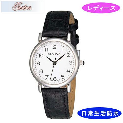 【CROTON】クロトン レディース腕時計 RT-125L-3 アナログ表示 日常生活用防水 /5点入り(き) シンプルなデザインでずっと使える安定したラインナップです