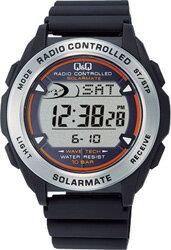 【CITIZEN】シチズン インテリア Q シンプラス&Q 扇風機 ソーラー電源デジタル電波 メンズ腕時計MHS7-300/5点入り(き):リコメン堂生活館 電池交換不要のソーラー電源!正確な時間で安心の電波時計