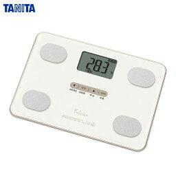 TANITA(タニタ) 体組成計 フィットスキャン FS-101-WH ホワイト (体重計/体脂肪/内蔵脂肪/BMI) 薄型コンパクトモデル【あす楽対応】【送料無料】