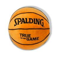 SPALDING スポルディング 丸型ボールクッション バスケットボール クッション 12-001BLの画像