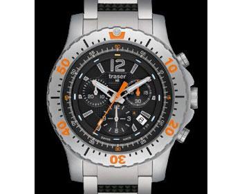 腕時計 Traser トレーサー ミリタリーウォッチ 「EXTREME SPORTS CHRONOGRAPH」 P6602.R53.0S.01 【送料無料】(き) 【送料無料】腕時計 Traser トレーサー