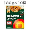 【10食セット】 ボンカレーゴールド 大辛 180g×10食 1