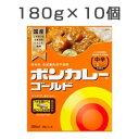【10食セット】 ボンカレーゴールド 中辛 180g×10食 1セット レトルトカレー レトルト食品 大塚食品
