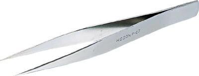 HOZAN ピンセット 125mm【P-87】(はんだ・静電気対策用品・ピンセット)【S1】