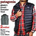 パタゴニア patagonia ダウンセーター メンズ ダウン セーター ベスト Men's Down Sweater Vest 84621【送料無料】【smtb-F】(代引不可)【エントリーでポイント19倍 10/8 9:59まで】【10P05Oct11】