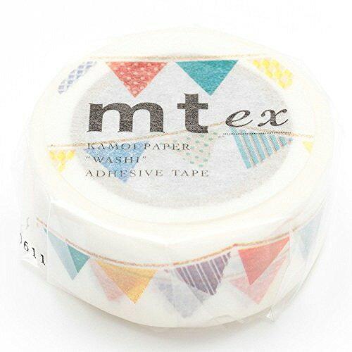 カモ井加工紙 マスキングテープ EX フラッグ MTEX1P82