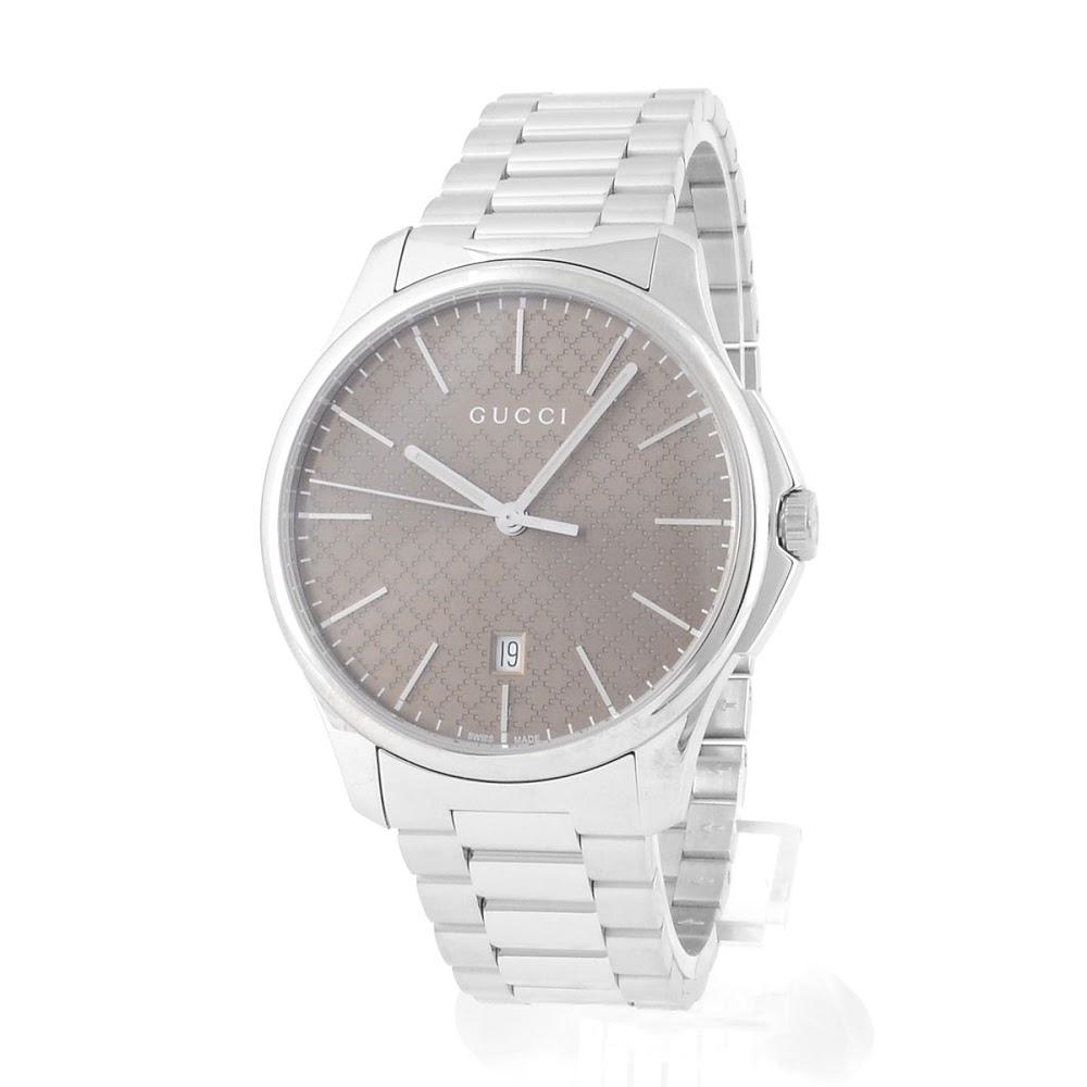 グッチ GUCCI YA126317 G-タイムレス コレクション クォーツ ラージスリム メンズ腕時計【送料無料】
