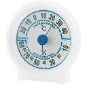 EMPEX (エンペックス) 温度・湿度計 シュクレ温度・湿度計 TM-5521 クリアホワイト