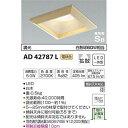 コイズミ LED防雨防湿ダウンライト AD42787L 【設置工事不可】