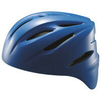 ZETT(ゼット) BHL40S ソフト捕手用ヘルメット オーシャンブルー S(52〜54cm)【送料無料】の画像