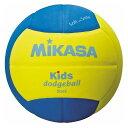 ミカサ(MIKASA) ドッジボール スマイルドッジボール2号 イエロー×ブルー SD20YBL