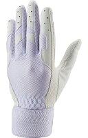 ZETT(ゼット) 守備用手袋 少年用 片手用 BG269J 【カラー】ホワイト 【サイズ】右手用Mの画像