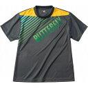 バタフライ(Butterfly) 男女兼用Tシャツ グラデイト・Tシャツ 45090 【カラー】チャコール 【サイズ】O