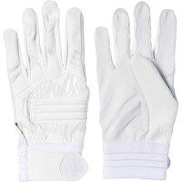 adidas(アディダス) adidas Baseball 5T バッティンググローブ DMU57 【カラー】ホワイト×ホワイト 【サイズ】Sの画像