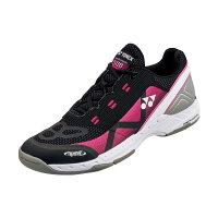 YONEX テニスシューズ POWER CUSHION 506(パワークッション506) カーペットコート用 カラー 【ブラック×ピンク】 サイズ【26】【送料無料】の画像