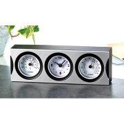 温湿度計付クロック 販促 記念品 時計クロック