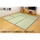 純国産 糸引織 い草上敷 『日本の暮らし』 本間6畳(約286×382cm)