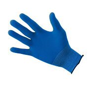 ショーワ EXフィット手袋 ブルー(10双入) B0620 L STBG603【S1】