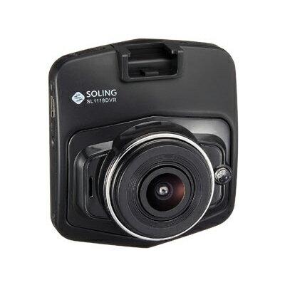 SOLING ソーリン ドライブレコーダー ドラレコ 2カメラ HD対応 駐車監視 常時録画 SL1118DVR【送料無料】【smtb-f】