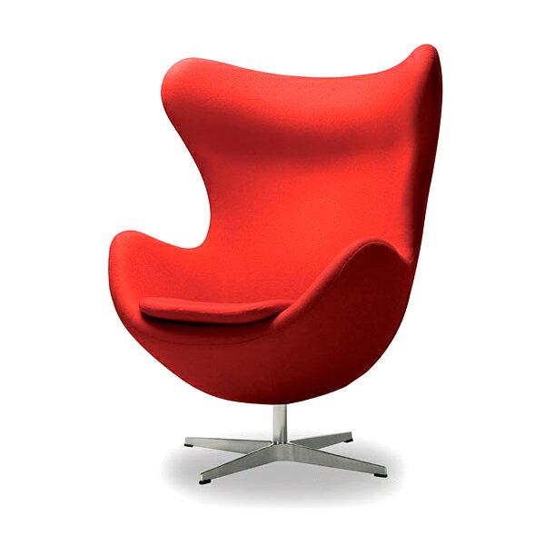 アルネ・ヤコブセン エッグチェア(ファブリック) Arne Jacobsen Egg Chair リプロダクト(き)【1年保証付】【送料無料】 【送料無料】エッグチェア Arne Jacobsen Egg Chair アルネ・ヤコブセン リプロダクト