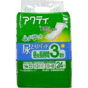 アクティ 尿とりパッド 昼用長時間 3回分吸収 24枚入 日本製紙クレシア