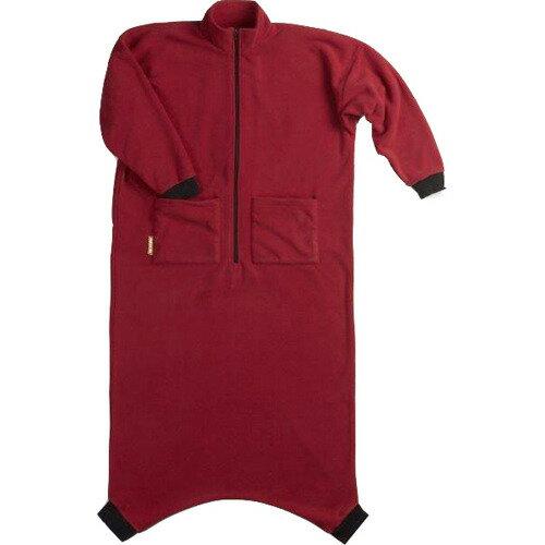 寝袋タイプのルームウェア ペンギンちゃん エンジ S ワイズコーポレーション