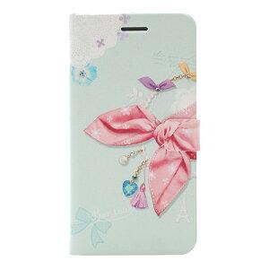 ハッピーモリ iPhone6 PLus ドットスカーフダイアリー