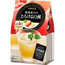 日東紅茶 厳選果汁のとろける白桃(10本入) 日東紅茶