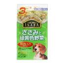 樂天商城 - INABA ささみと緑黄色野菜(豚肉入)80g×3袋 いなば食品