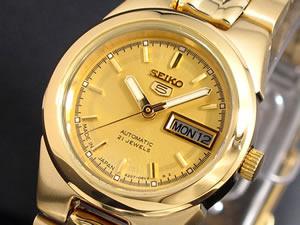 セイコー5 SEIKO ファイブ 腕時計 自動巻き レディース SYMG58J1【_包装】 【楽しい】