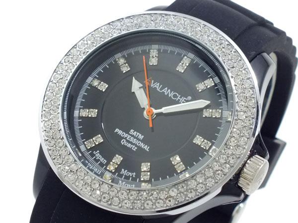 アバランチ AVALANCHE レディース 腕時計 AV-107S-BK-40【_包装】