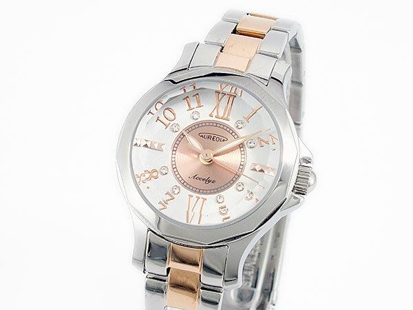オレオール AUREOLE 腕時計 時計 SW-574L-3【_包装】 【和歌山県】