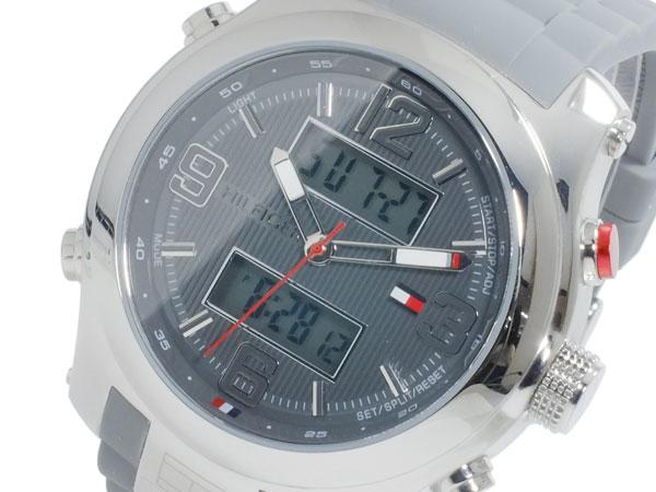 トミー ヒルフィガー TOMMY HILFIGER クオーツ メンズ 腕時計 時計 1790957【_包装】 【ラッピング無料】